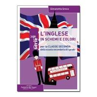L'inglese in schemi e colori - Classe seconda media
