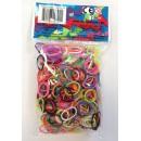 Rainbow Loom- 600 elastici colori misti