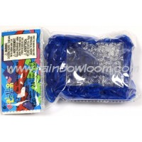 OCEAN BLUE JELLY Elastici originali Rainbow Loom