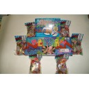 KIT RAINBOW LOOM +  MONSTER TAIL + 6 CONFEZIONI ELASTICI ORIGINALI RAINBOW LOOM COLORI MISTI