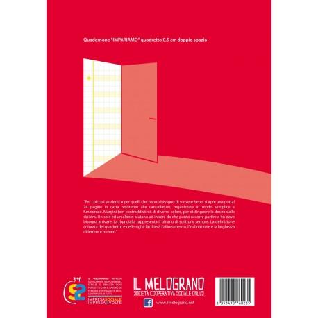 Quadernone per Disgrafici - Quadretto 0.5 cm Doppio Spazio