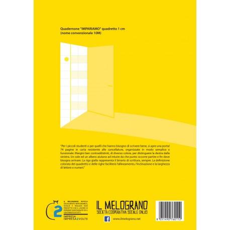 Quadernone per Disgrafici - Quadretto 1 cm