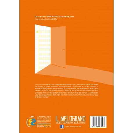 Quadernone per Disgrafici - Quadretto 0.5 cm