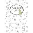 Quadernoni di Laura - Foglie & Coniglietti da colorare, a quadretti