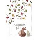 Quadernoni di Laura - Volpina e Coniglietti, a righe