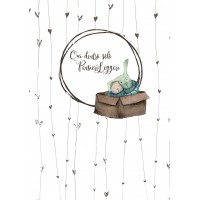 Quaderno A5 di Laura - Cuori e Coniglietti, a righe