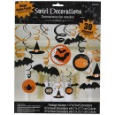 Confezione di 30 Decorazioni da Appendere di Halloween