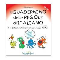 Il Quadernino delle Regole di Italiano per DSA dislessia