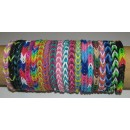 UNCINETTO METALLO_ROSA_Rainbow Loom
