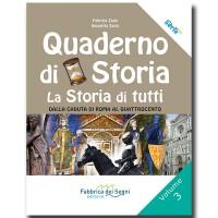 Quaderno di Storia 3 - La Storia di tutti