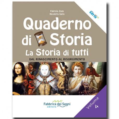 Quaderno di Storia 4