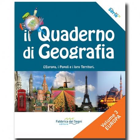 Il Quaderno di Geografia - Mondo Volume 3