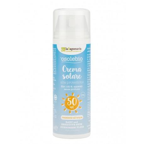 Crema protettiva 50 125ml - Linea solare La Saponaria